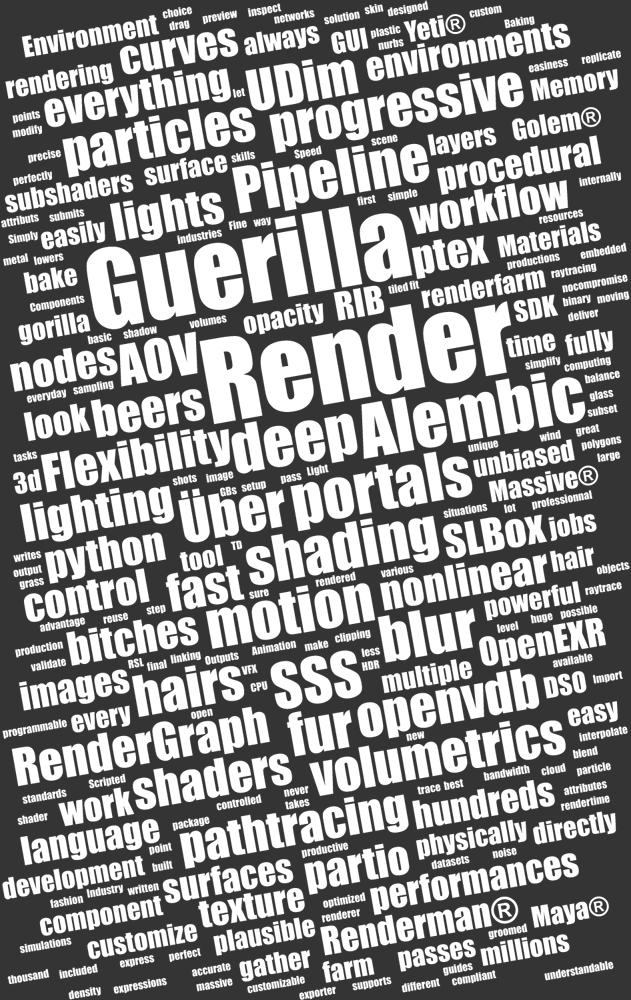 http://guerillarender.com/images/14_siggraph_guerilla_word_cloud.jpg