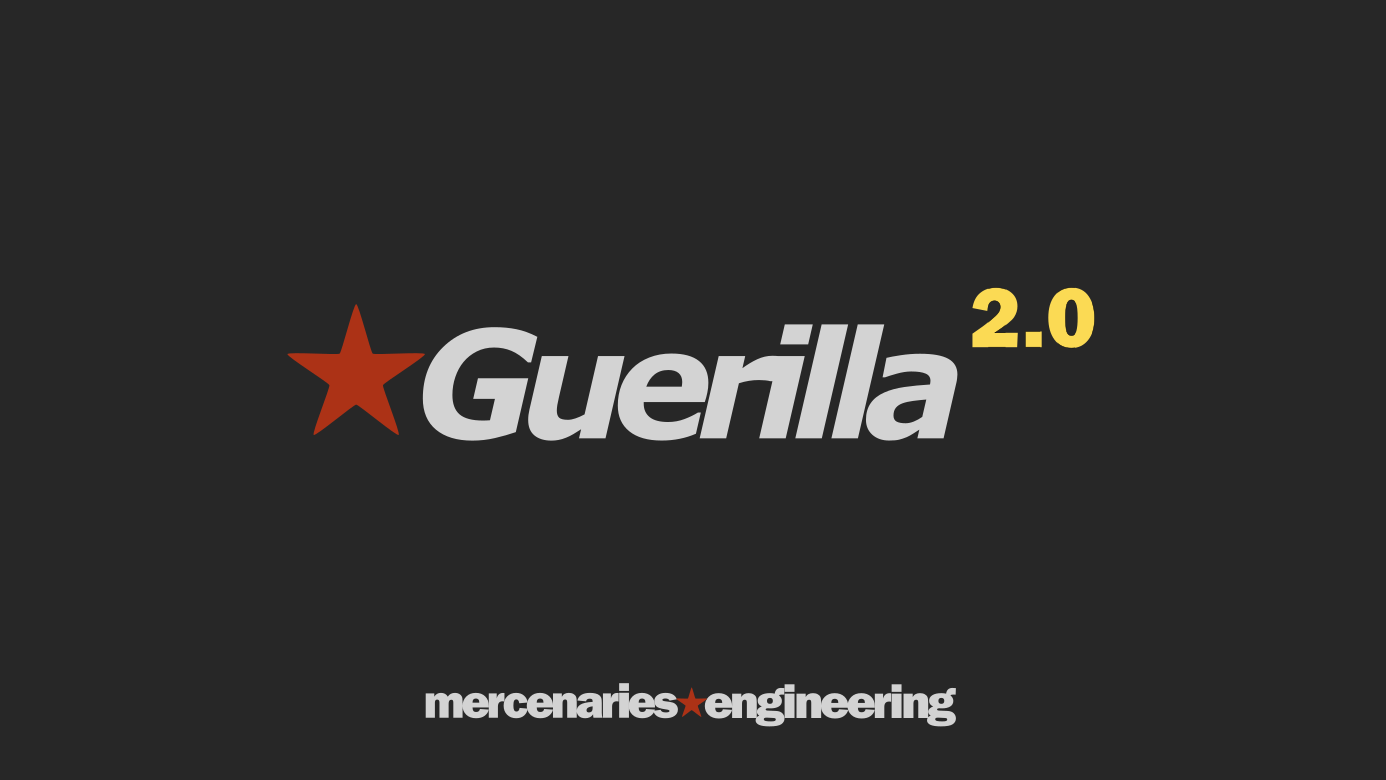 Guerilla 2. 0 is now available! | guerilla render.