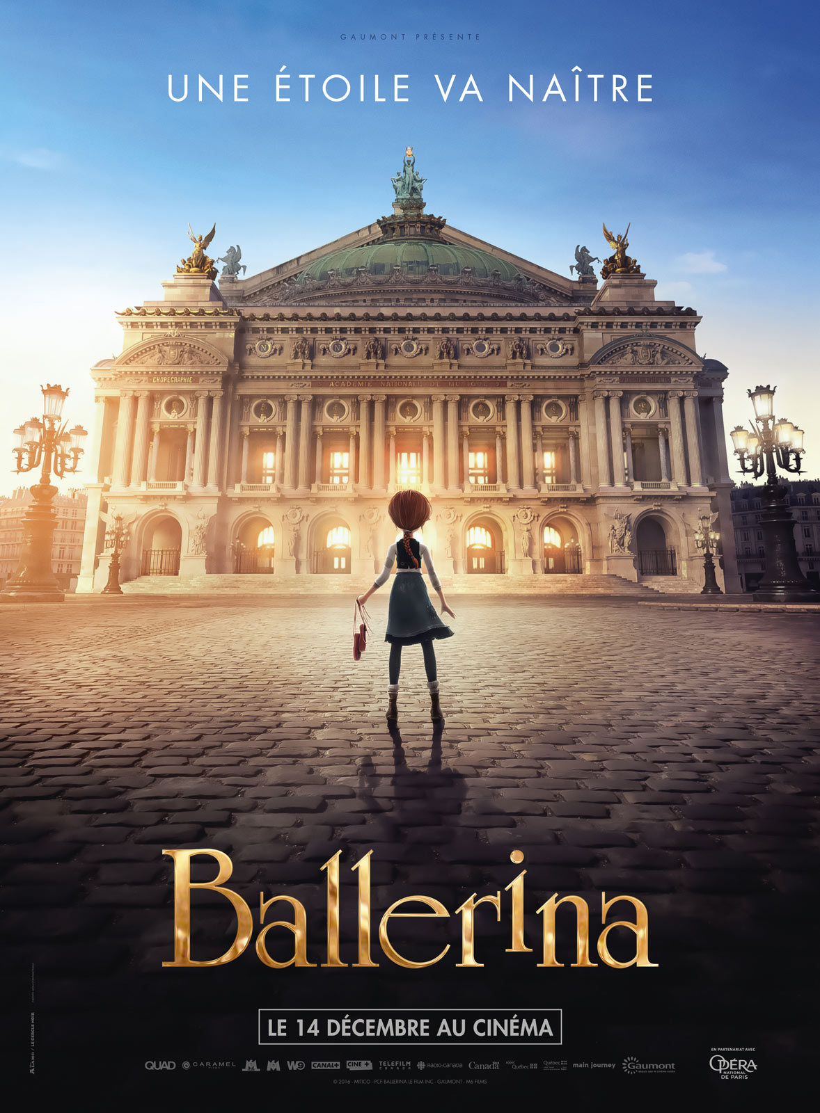 Ballerina L'Atelier Animation lookdev assembly lighting render Guerilla Station Guerilla Render